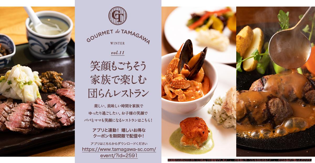 gourmet de tamagawa winter vol 11 笑顔もごちそう家族で楽しむ団らん